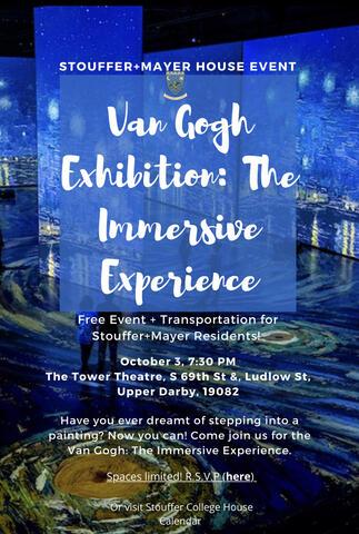 Tiffani Rose Brown UPenn University of Pennsylvania Van Gogh